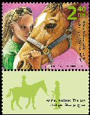 Stamp:Animal Assisted Therapy (Animal Assisted Therapy), designer:Meir Eshel & Tuvia Kurtz 09/2009