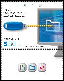 Stamp:USB Flash Drive (Virtual Communication), designer:Haimi Kivkovitch 09/2009