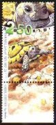 Stamp:Greek Tortoise (Wild Animals in Israel), designer:Amir Balaban 03/2001
